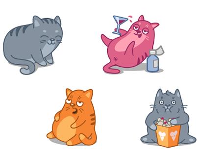 Cat Power Animated