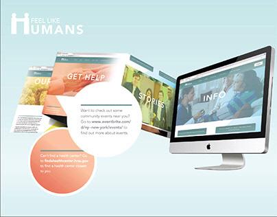 Feel Like Humans: Output 2 - Website