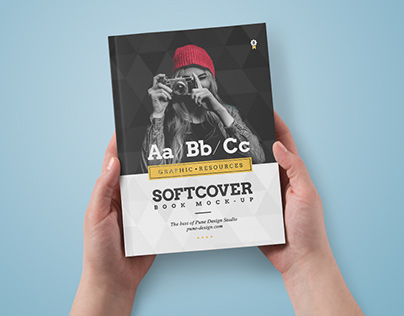 Book Mock-Up / Softcover Edition