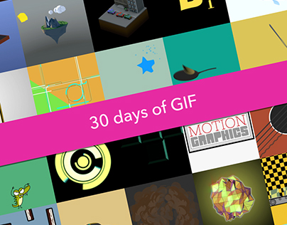30 Days of GIF