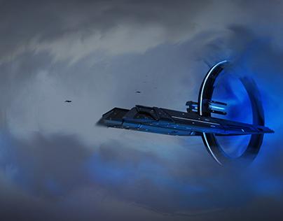 A space ship..........