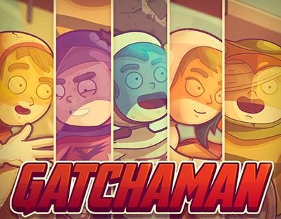 Fanart Gatchaman