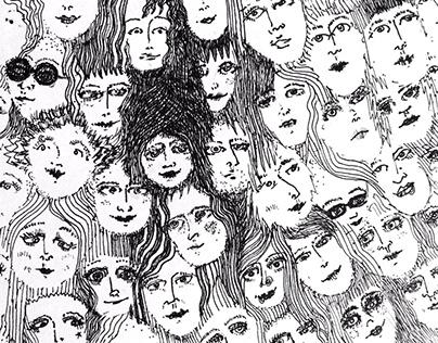 Faces for Album/Poster Art