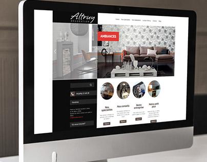 Altruy decoration -Website & Film