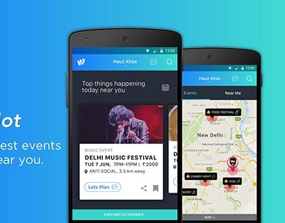 Vodafone mobile app reimagined on Behance