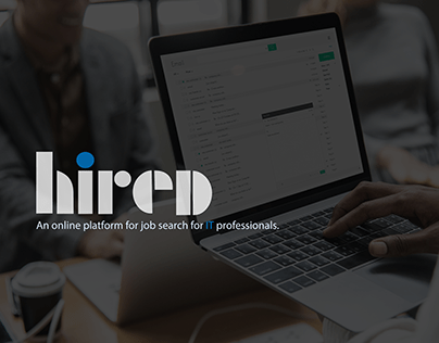 HIRED. Online platform for job search.