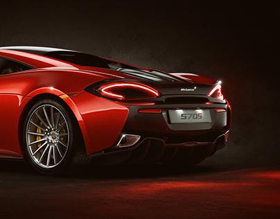 McLaren 570S - CGI