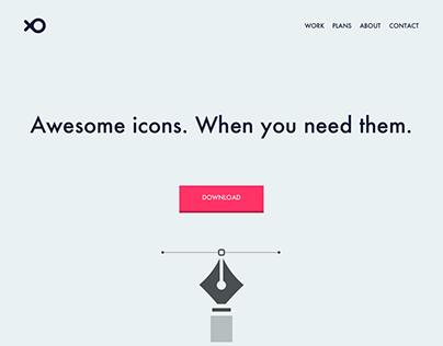 Daily UI #03 - Landing Page