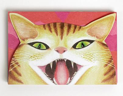 Adult Swim Comic-Con Cat Tapestry Brochure