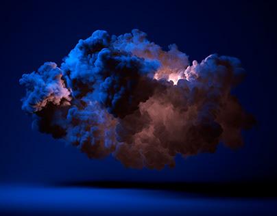 Redshift volumetric clouds render.