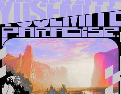 Yosemite Graphic Design Poster