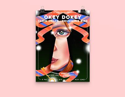 OKEY DOKEY Poster Commission
