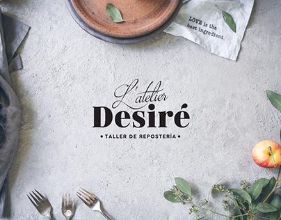 L'atelier Desiré | Branding