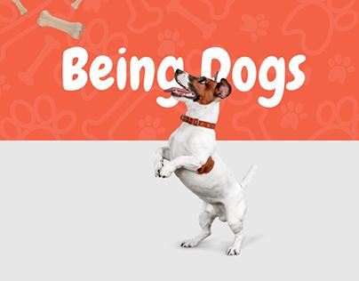 Being Dogs | Merchandise Design