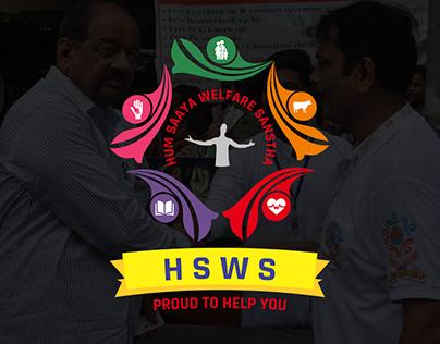 Hum Saaya Welfare Sanstha : Logo Design