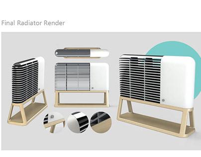 Nordic Design Heating Device