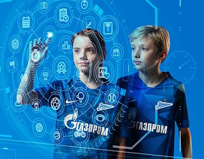 Gazprom for children — poster images