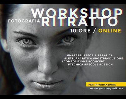 WORKSHOP FOTOGRAFIA RITRATTO