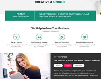 Forbes - Multipurpose HTML5 Template