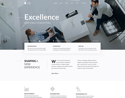 Zohar WordPress Theme