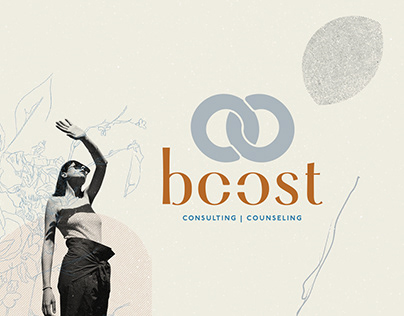 Boost Counseling + Consulting: Brand Identity