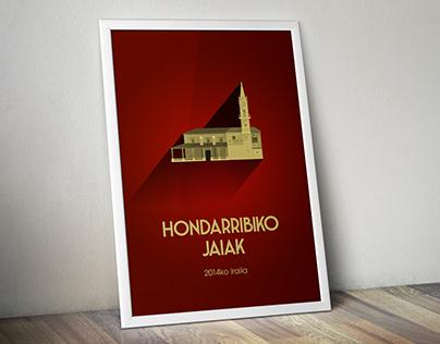Poster para Fiestas de Hondarribia 2014