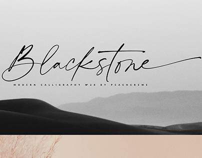 Blackstone Casual Chic Font