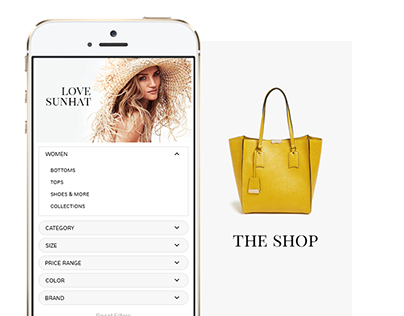 TheShop. Free e-commerce PSD template