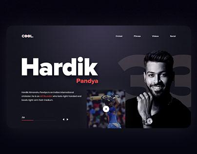 Cricket Player Profile