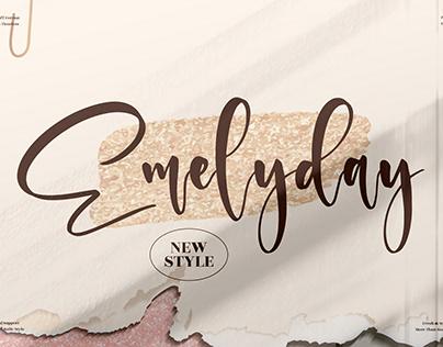Emelyday - Beautiful Handwritten Font
