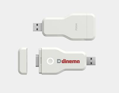 FDU4 | DB9 - USB Key