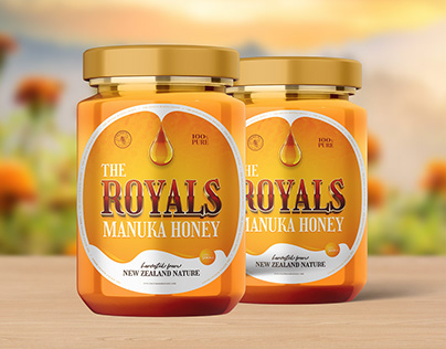 Packaging Design of Royals Honey