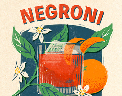 Cocktail illustrations