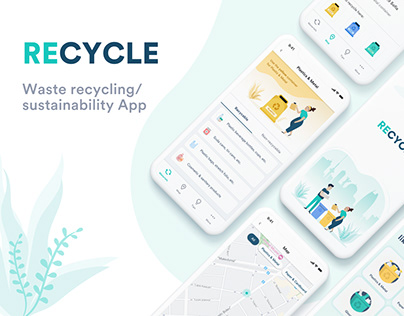 Waste recycling App