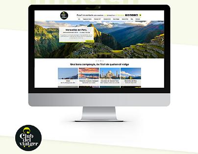 """Restyling Web - Agencia de viajes """"El club del viatger"""""""