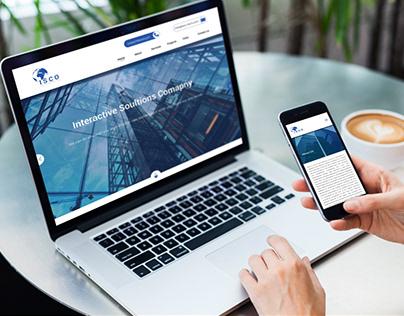 ISCO Website Redesign