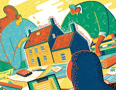 Editorial Illustrations #2