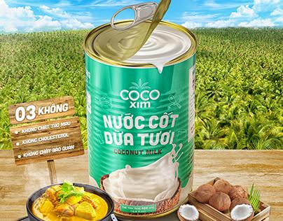 Cocoxim - Coconut milk