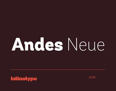Andes Neue