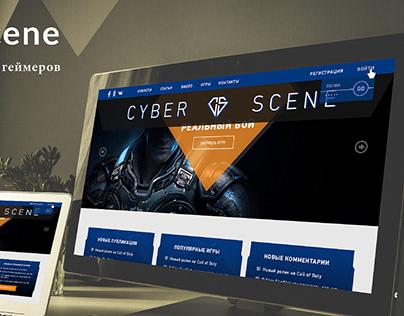 Game site CYBER SCENE