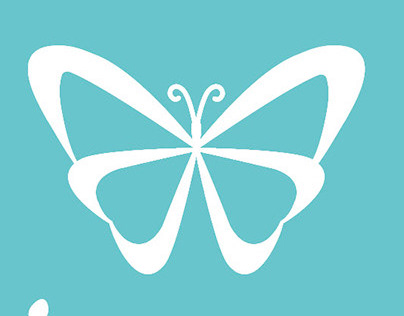 Logotipo Mariposa Azul