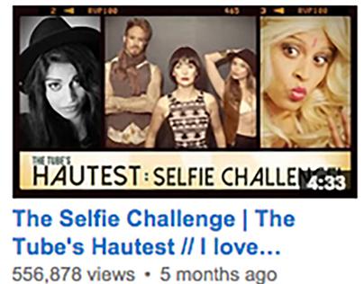 Tube's Hautest: Selfie Challenge