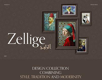 Zellige, un design graphique   Hamza N'bouhammou