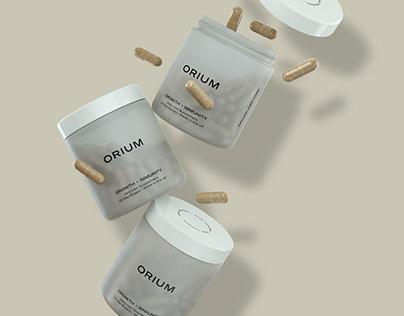 Capsule product shot