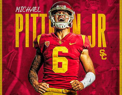 2019 USC Football social media graphics