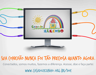 Nova página de doação - ONG Casa do Zezinho