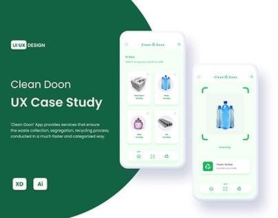 Clean Doon - UX Case Study