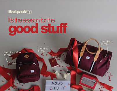 Bratpack | It's the Season for the Good Stuff Campaign