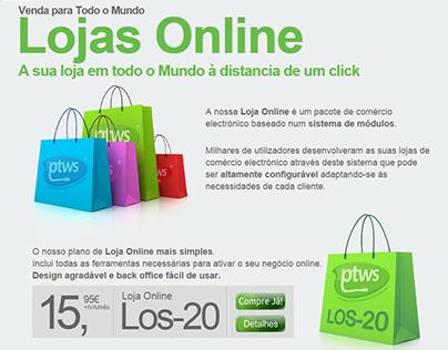 PTWS - Lojas Online, Módulos, Upgrade