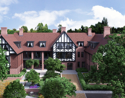 Tudor care home cgi